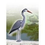 Декоративна фигура за фонтани и езера Чапла