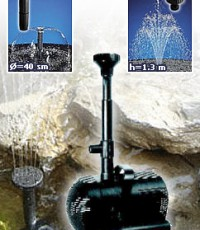 Водна помпа за фонтани Модел FLASH GARDEN 1500
