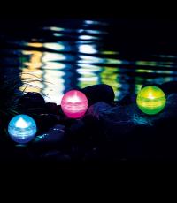 Светещи топки LED