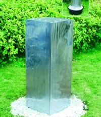 Градински фонтан Quadrus от неръждаема стомана