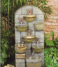 Градински фонтан - чешма от полирезин