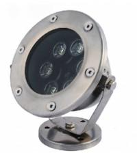 Подводен LED прожектор за фонтани, басейни, езера и шадравани